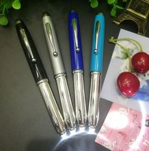 Promotional 3 in 1 multifunctional led torch light pen touch stylus tip ball pen