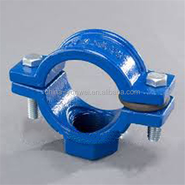 Factory Customized OEM Precision Cast Iron Pipe Clamp