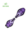 Purple Color Two Wheels Tire Skateboard Sunglasses Tool