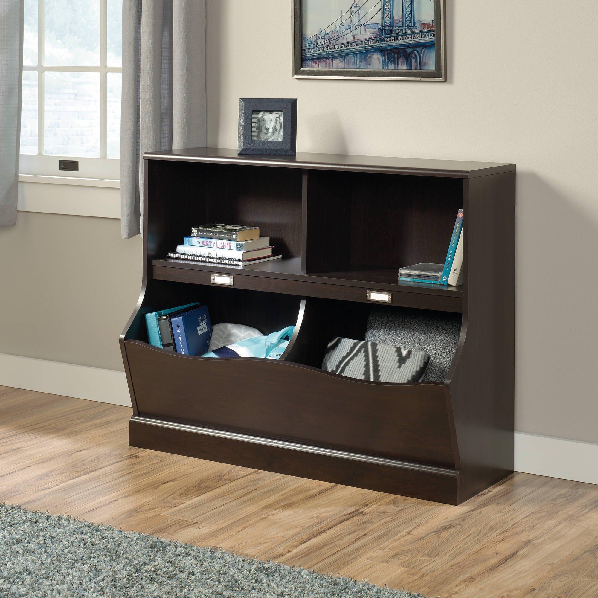 Sauder Storybook Bookcase, Jamocha Wood Finish