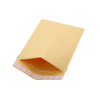 custom Strong Adhesive brown kraft bubble mailers shipping padded envelopes