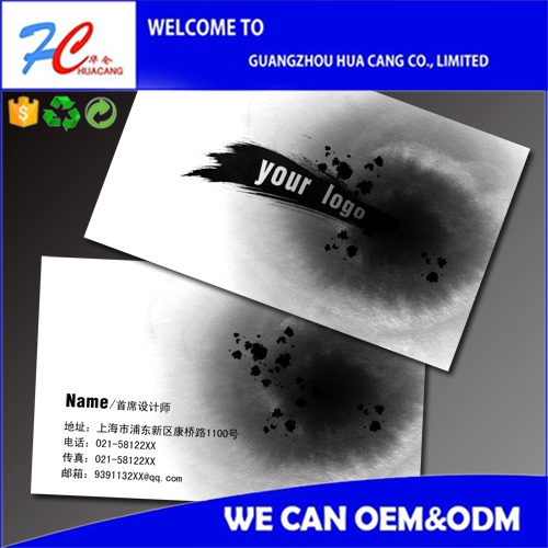 Letterpress/Embossing Color Edge Paper Business Card Printing