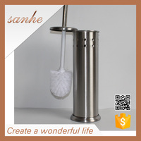 household cleaning supplies stainless steel handheld cleaning bathroom brush