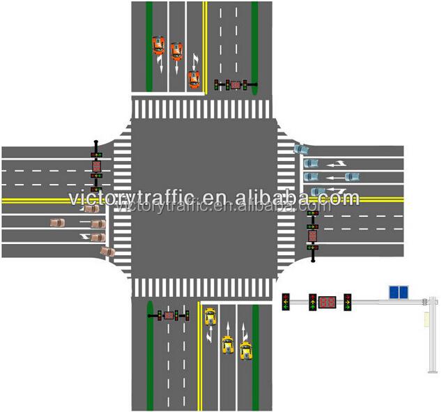 Traffic Light Controller In Xilinx: 태양 광 무선 통신 제어 시스템/ 교차로 교통 신호/ 신호등 컨트롤러