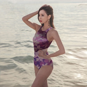 custom print any design 85 polyester 15 spandex digital print swimwear fabric with no MOQ