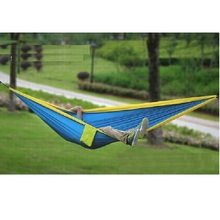 Amazon hot sale parachute fabric travel hammock single and double parachute outdoor straps for camping