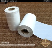 Premium print quality white resin ribbon for wash care labels direct supply in Guangzhou barcode resin ribbon