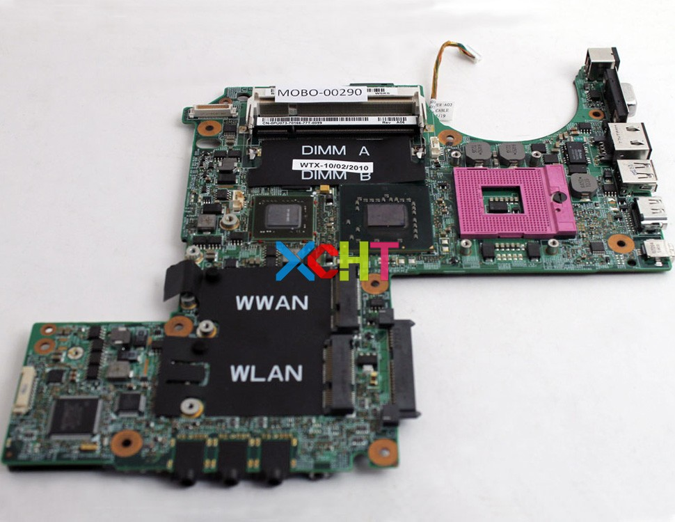 for Dell XPS M1330 CN-0PU073 PU073 NB8M-GS 128MB Laptop Motherboard Mainboard Tested