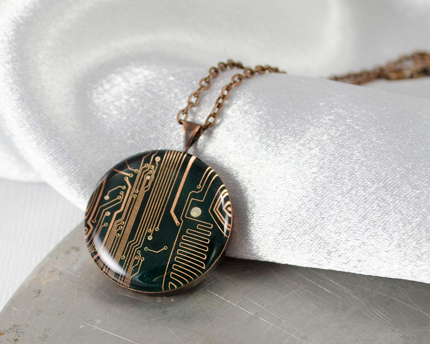 Cheap Price For Recycled Copper Find Recycledcircuitboardlamp Get Quotations Circuit Board Necklace