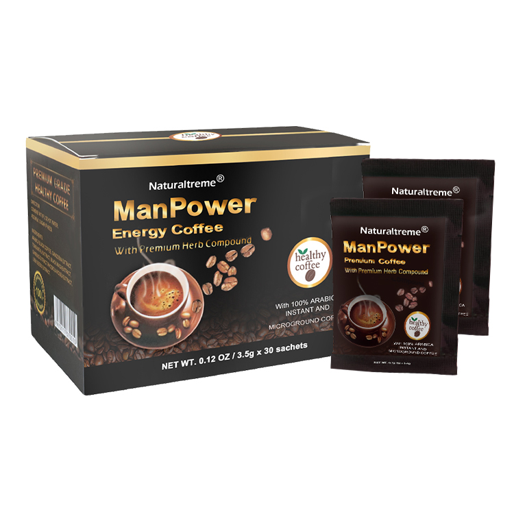 Powerful Maca Extract Coffee Enhance Energy Natural Health Products