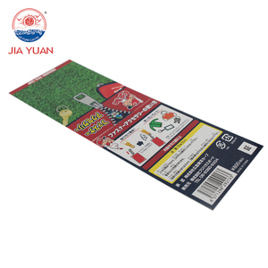 Custom Full Color Printed Recycle Paper Card Board