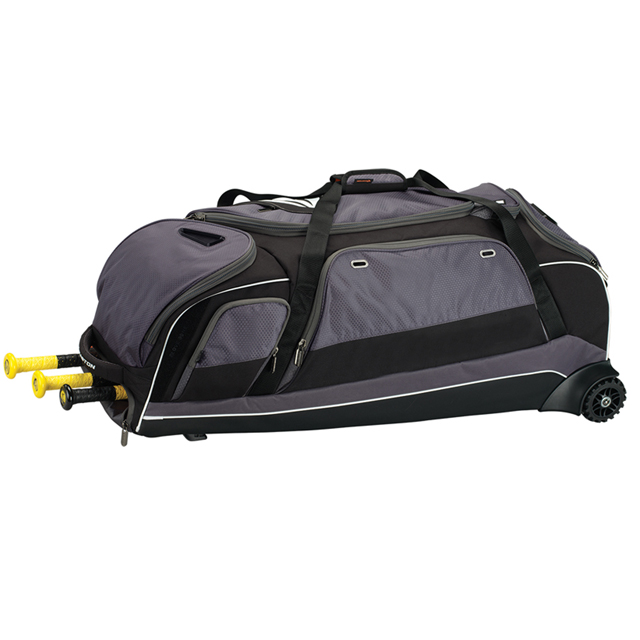 Wheeled Baseball Equipment Bags With Extra Large Pocket