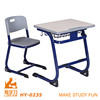 School furniture single desk and chair