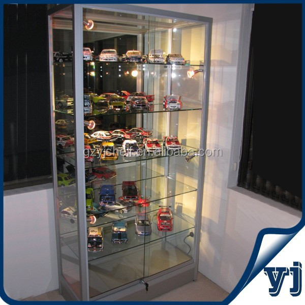Functional Tempered Glass Display /shopping Mall And Exhibition ...