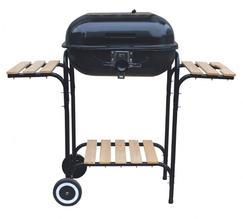 stainless steel outdoor charcoal smokeless bbq grill