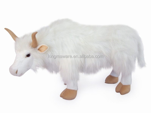 realistic plush wild yak toy/ stuffed wild yak plush toy