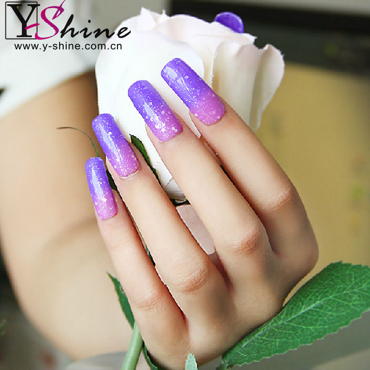 2016 new arrival shining color global supplier gel polish nail salon
