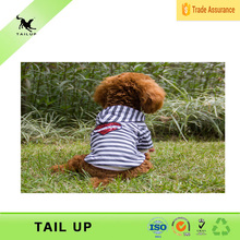 TAILUP Classic Wide Stripes T-shirt Fashion Soft Cotton Dog Hoodie Pet Clothes For small dog