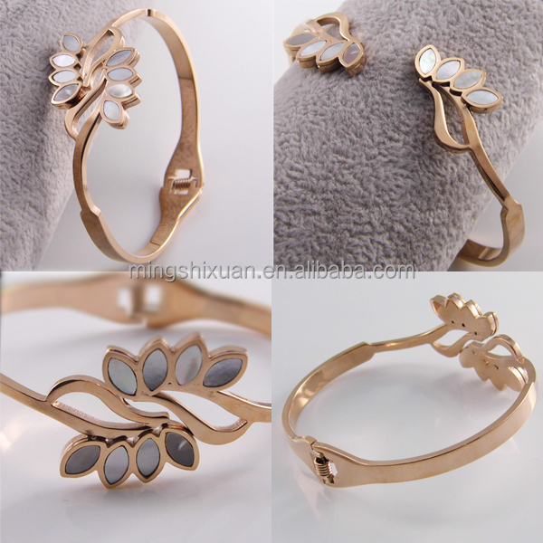 Most Popular Wholesale Stainless Steel Rose Gold Latest Design Daily