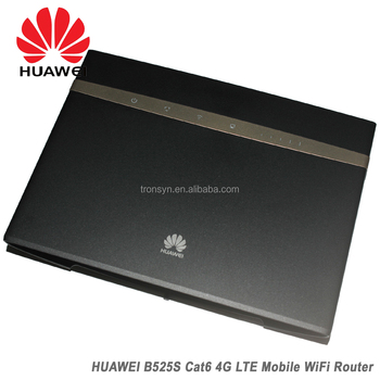 Huawei B525 B525s-23a 4g Lte 300mbps Cat6 Cpe Wireless Router Support  Access To Gigabit Ethernet Network - Buy Huawei B525,Huawei B525 4g  Cpe,Huawei
