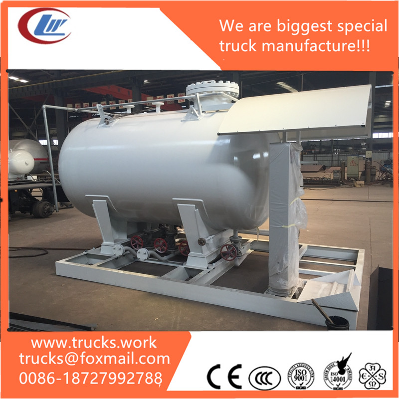 ASME pressure vessel 10mm 1.77Mpa carbon steel oil water LPG storage tank in China