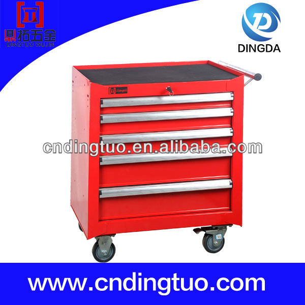 Five Drawers Stainless Steel Tool Storage Cabinet