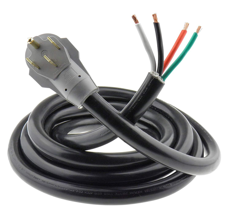 Buy Mpi Tools Nema 14 50 Power Cord Whip 6 3 8 1 Awg Amp 125 50p Wiring