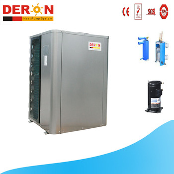 Low cost new energy air source swimming pool heat pump water heater
