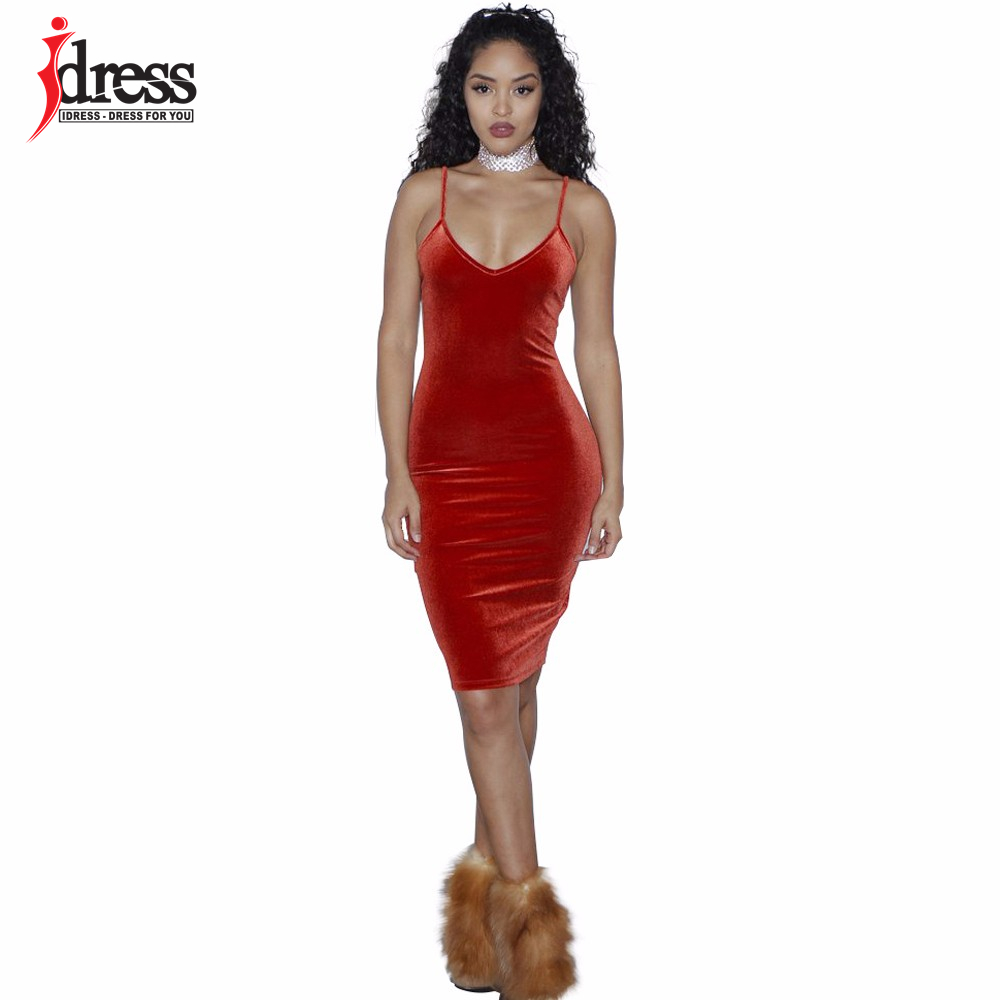 023ce99accfa4 IDress Wine Red/ Khaki/ Army Green/ Black Bodycon Dress Trendy Package Hip  mq0530 Female Dresses Extra Large Love Party Dresses