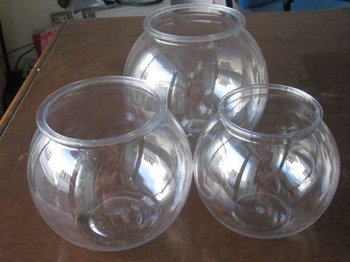 Clear plastic large fish bowls buy plastic fish bowls for Fish bowl drinks near me