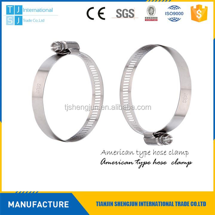 Plastic sae hose clamp sizes chart made in China
