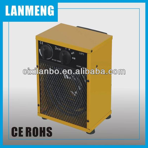Factory Manufacture Cheap Electric fan heater 3kW , GS, CE, ROHS ,EMC Approvaled