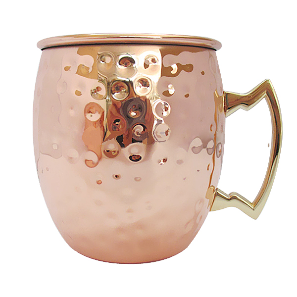 Wholesale stainless steel copper cup copper mug in stock