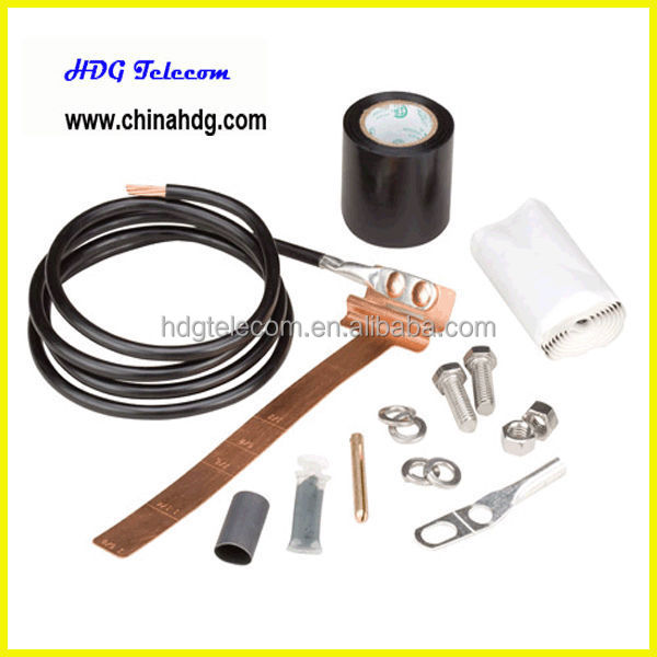 "Universal Grounding Kit for 1/2"" 7/8"" 1-1/4"" 1-5/8"" coaxial cable"