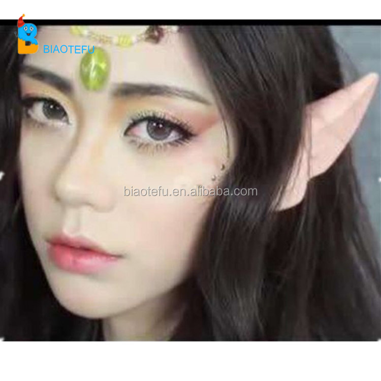glow in the dark cosplay rubber prop elf ears
