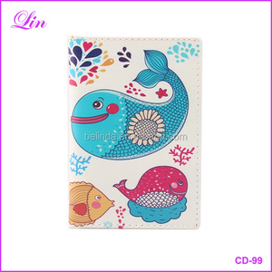 Passport cover wallet cute customized travel passport holder case