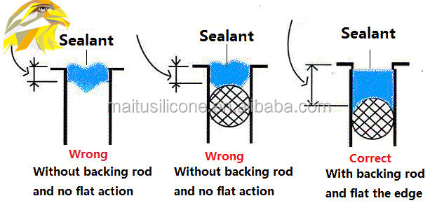 Structural Silicone Joint : General purpose acetic silicone sealant buy wacker
