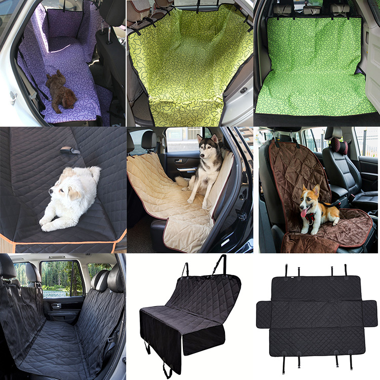RoblionPet Großhandel auto seat protector hund hängematte pet auto sitz abdeckung