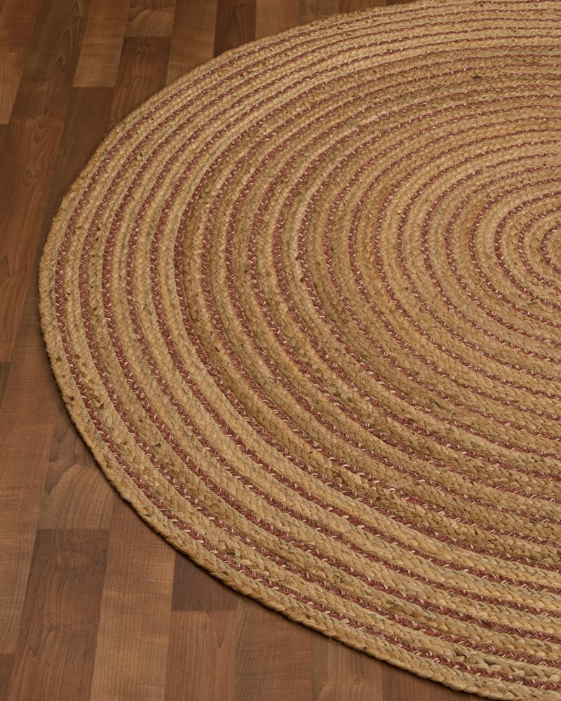 Get Quotations  NaturalAreaRugs Natural Fiber Bravo Jute Round Rug 8Feet By