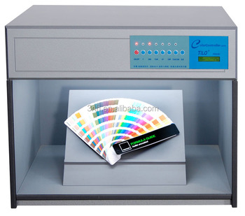Tilo color controller p60(6) lab color inspection light box with D65, TL84, UV, F, CWF, TL83