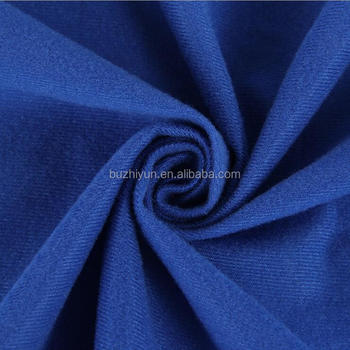 100 Polyester Tricot Brushed Loop Velvet Fabric For Toy Sofa