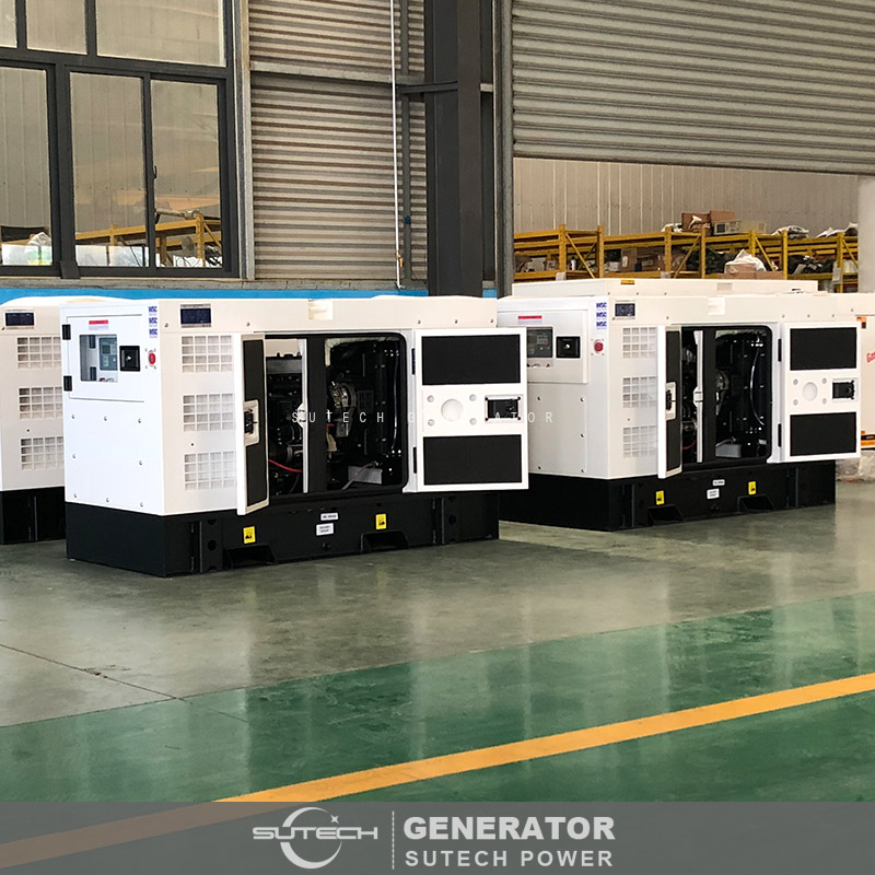 Hot Sales! Cheap Silent Diesel Generator 15KW with automatic transfer switch