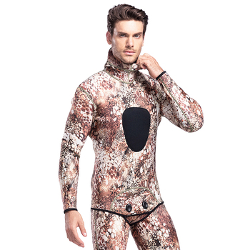 Custom Camo Neoprene Opencell Diving Suit Spearfishing Wetsuit