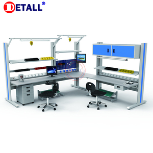 Electronic Assembly ESD office workstation and workbench