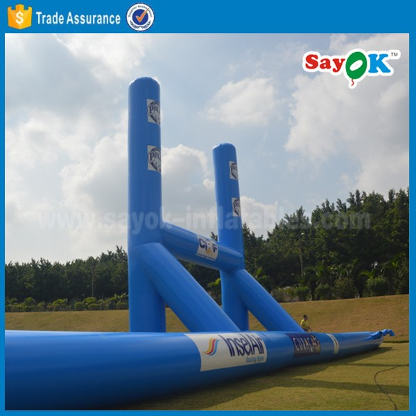 custom giant inflatable beach volleyball/football court for sale
