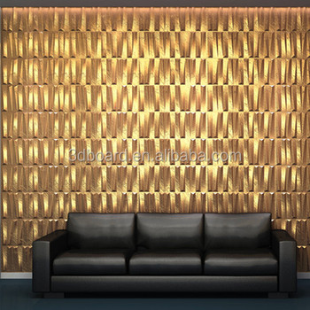 Brick Design Wall Decor Material Acoustic Wallpaper 3d In Middle ...