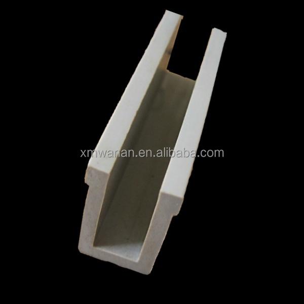 harde pvc plastic u profiel kunststof profielen product id 60041382543. Black Bedroom Furniture Sets. Home Design Ideas