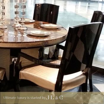 Wooden Dining Table Made In Vietnam Round On Alibaba New Design Jt17 01