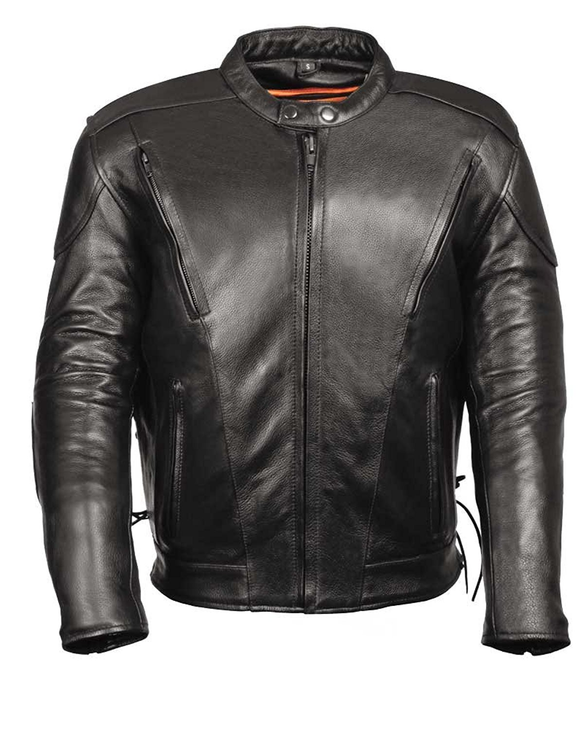 Excliria Mens Fashion Stylish Leather Jacket X-Large