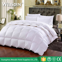 China supplier wholesale warm white hotel duvet insert down quilt